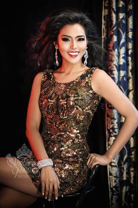 Binibini #36-MARIA GIGANTE during Binibining Pilipinas 2016 Glam Shots