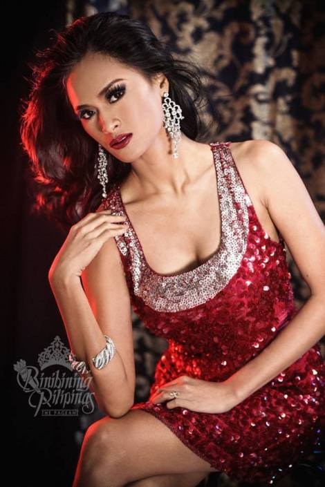 Binibini #39-SISSEL RIA RABAJANTE during Binibining Pilipinas 2016 Glam Shots