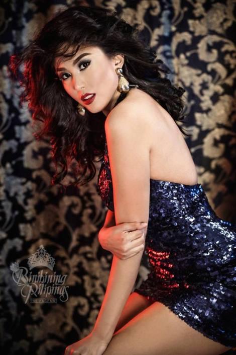 Binibini #40-CHRISTIANNE RAMOS during Binibining Pilipinas 2016 Glam Shots