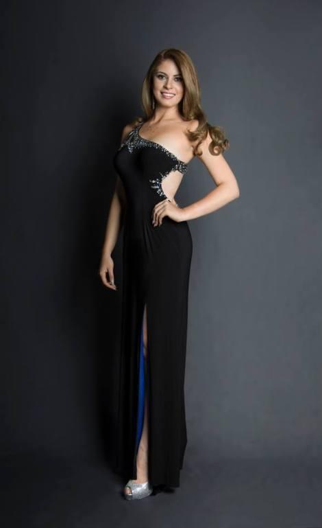 Ana Cristina Mick during Miss Ecuador 2016 Evening Gown Portraits