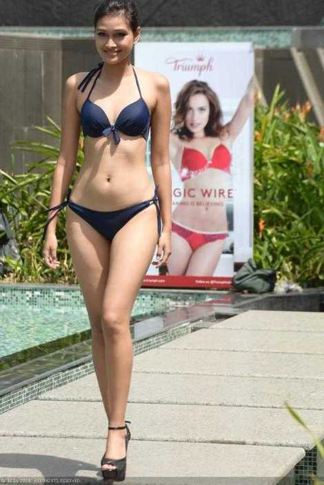 Aradhana Buragohain in Bikini Femina Miss India 2016