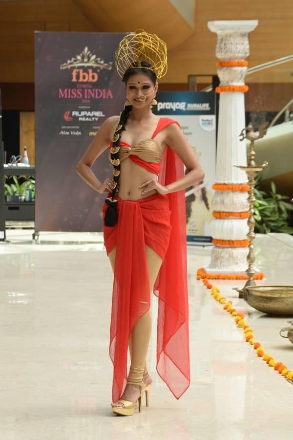 Aradhana Buragohain in National Costume