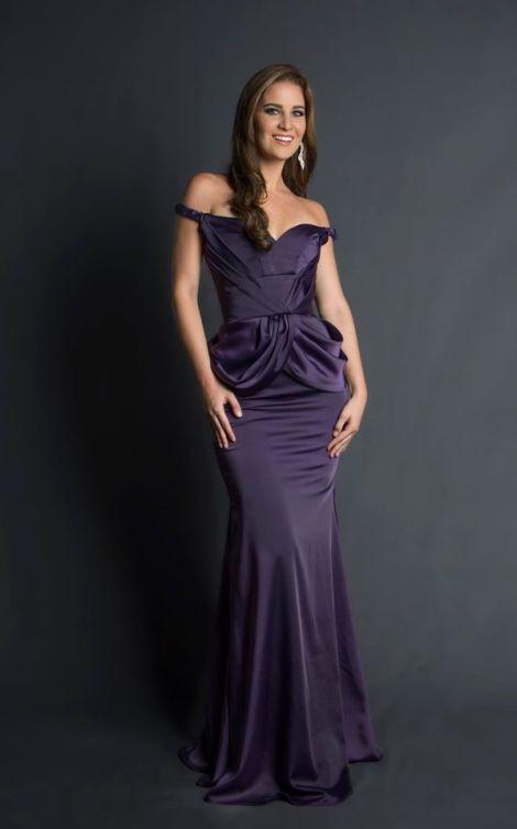 Bianka Fuentes during Miss Ecuador 2016 Evening Gown Portraits