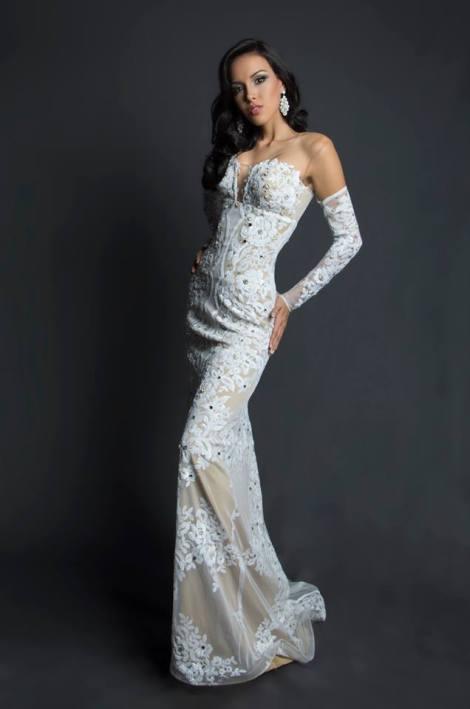 Carmen Iglesias during Miss Ecuador 2016 Evening Gown Portraits