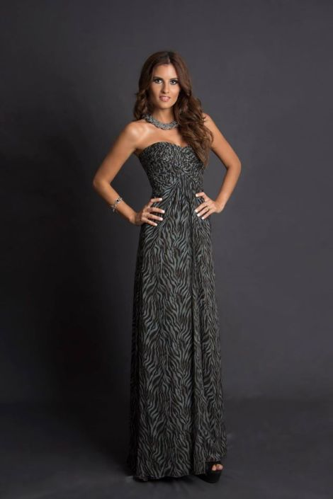 Carole Abedrabbo during Miss Ecuador 2016 Evening Gown Portraits