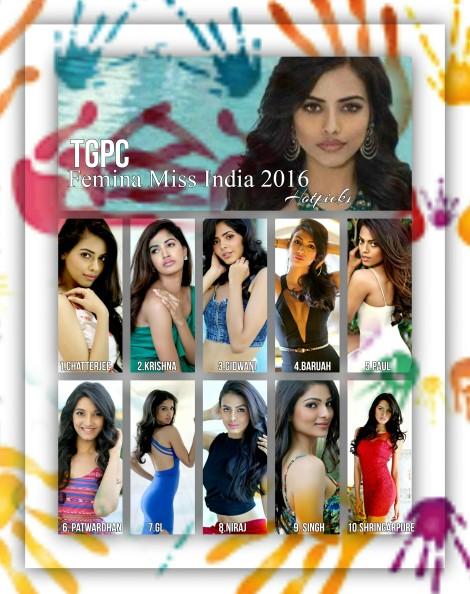 Femina Miss India 2016 hotpicks