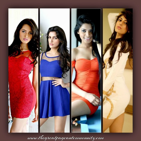 Femina Miss India 2016 contestants during Femina Miss India 2016 Casual Photo shoot