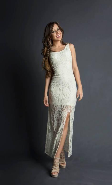 Francesca Possieri during Miss Ecuador 2016 Evening Gown Portraits