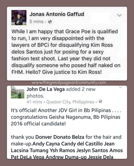Kim Ross disqualified from Binibining Pilipinas 2016