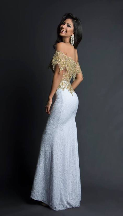 Joselyn Noroña during Miss Ecuador 2016 Evening Gown Portraits