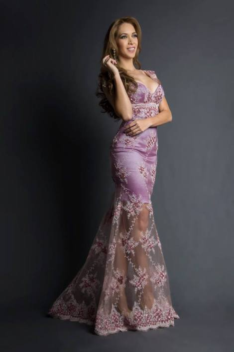 Jushtin Osorio during Miss Ecuador 2016 Evening Gown Portraits