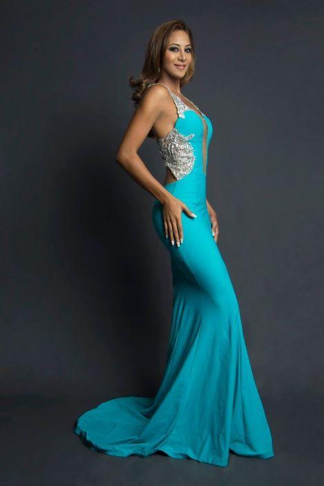 Karen Guerrero during Miss Ecuador 2016 Evening Gown Portraits
