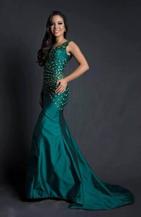 Milkha Moreira during Miss Ecuador 2016 Evening Gown Portraits