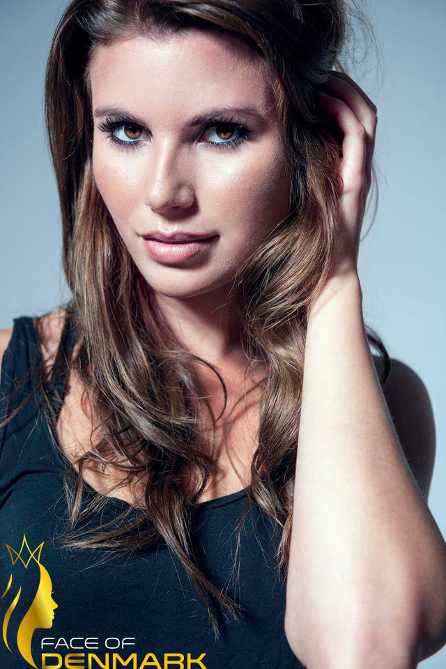 Miss Universe Odense-Sara Danielsen is a contestant of Face of Denmark 2016