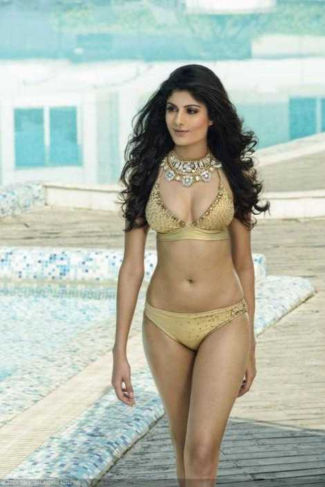 Niharika Anand in Swimsuit