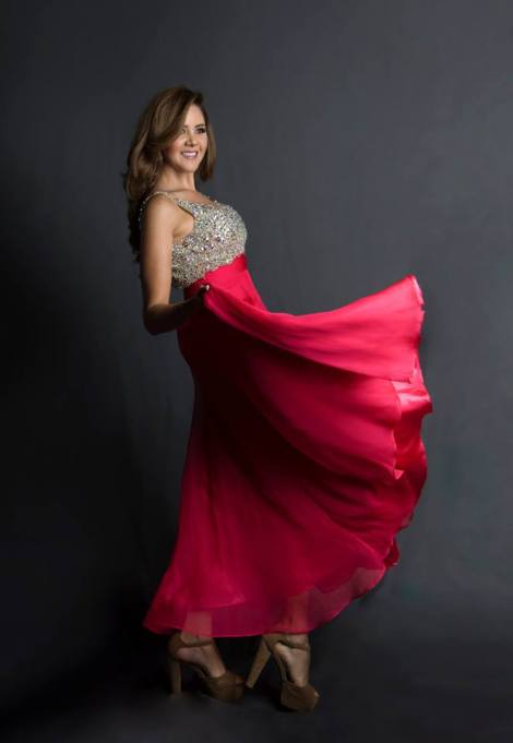 Paola Vintimilla during Miss Ecuador 2016 Evening Gown Portraits
