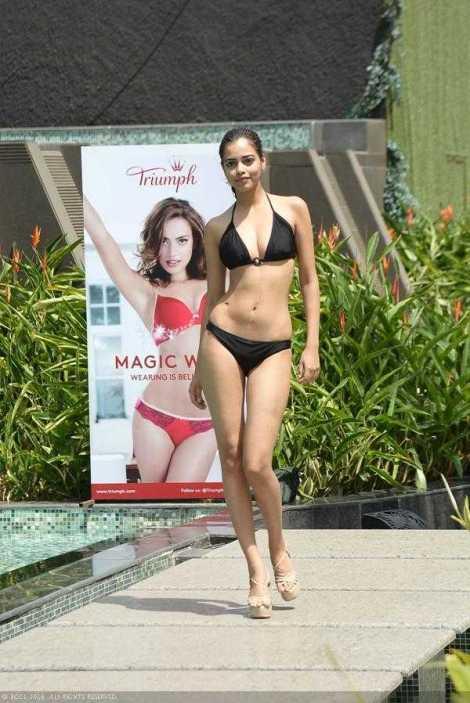Priyadarshini Chatterjee in Bikini Femina Miss India 2016
