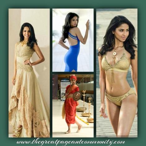 Sanjana GL is one of favorites for Femina Miss India 2016