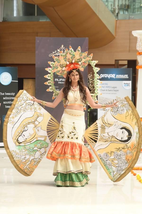 Sushruti Krishna in National Costume