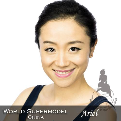 World Supermodel China - Ariel is a contestant at World Supermodel 2016