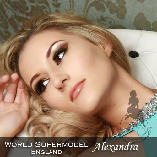 World Supermodel England - Alexandra is a contestant at World Supermodel 2016