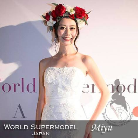 is a contestant at World Supermodel 2016