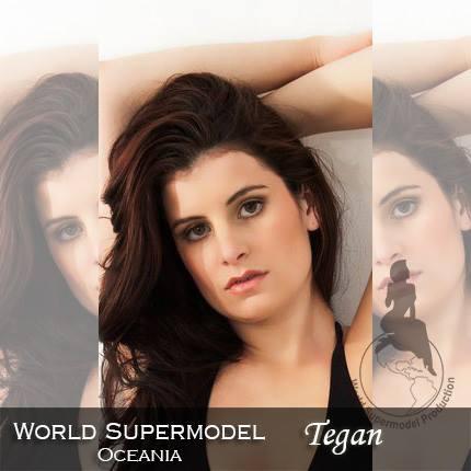 World Supermodel Oceania - Tegan is a contestant at World Supermodel 2016