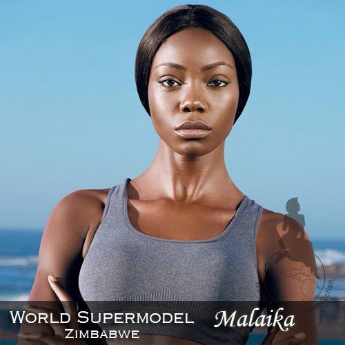 World Supermodel Zimbabwe - Malaika is a contestant at World Supermodel 2016