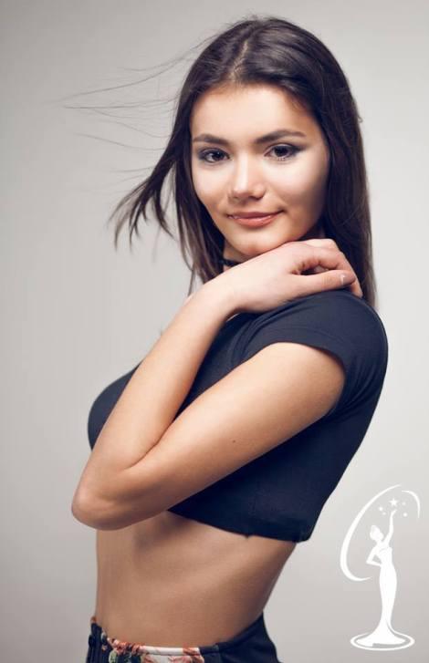 Xhoana Cara is a contestant of Miss Universe Albania 2016
