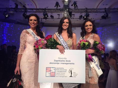 Barbara Filipovic has been chosen as Miss Universe Croatia (also known as Miss Universe Hrvatske) on 15th April, 2016 in Zagreb, the capital city of Croatia. She succeeds Barbara Ljiljak as the winner of Miss Universe Croatia title.