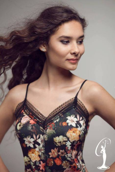 Fotini Elmazi is a contestant of Miss Universe Albania 2016