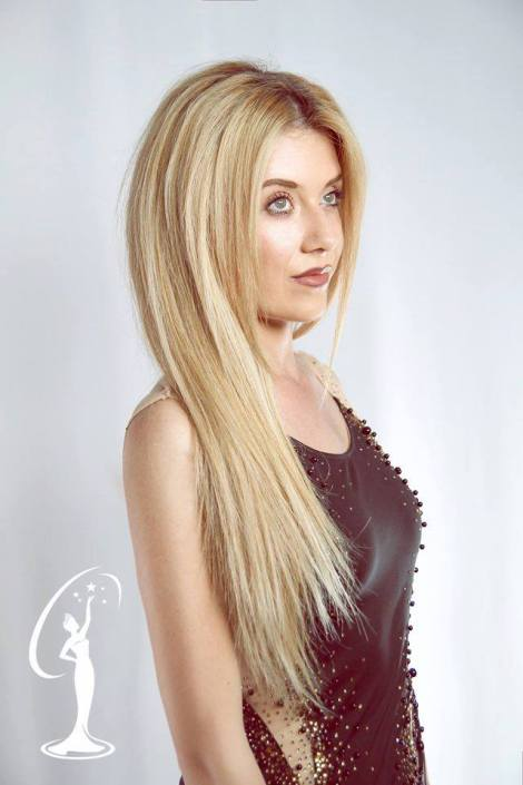 Kesjana Xhaja is a contestant of Miss Universe Albania 2016
