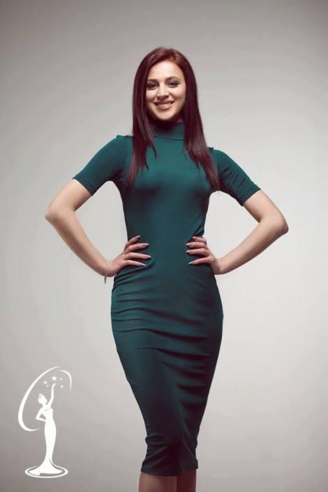 Erlinda Deda is a contestant of Miss Universe Albania 2016