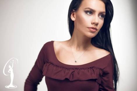 Ëndrra Kovaci is a contestant of Miss Universe Albania 2016