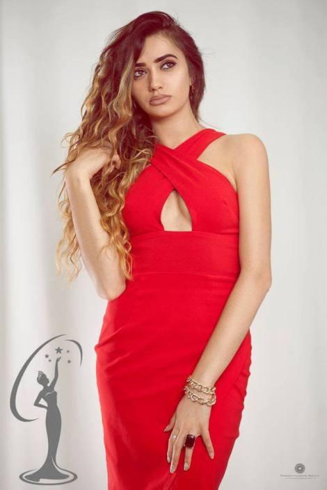 Arbenita Morina is a contestant of Miss Universe Albania 2016