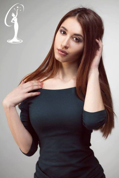 Seli Visha is a contestant of Miss Universe Albania 2016