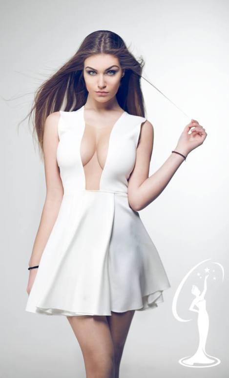 Trejsi Sejdini is a contestant of Miss Universe Albania 2016