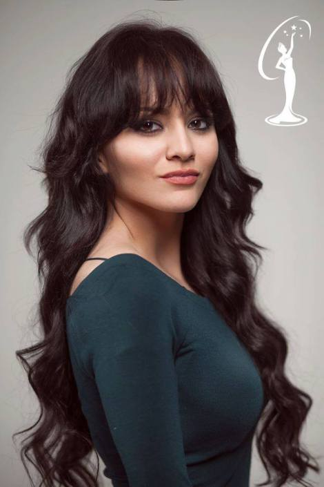 Sara Gjordeni is a contestant of Miss Universe Albania 2016