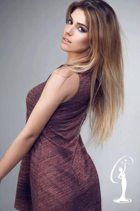 Petrula Vasku is a contestant of Miss Universe Albania 2016