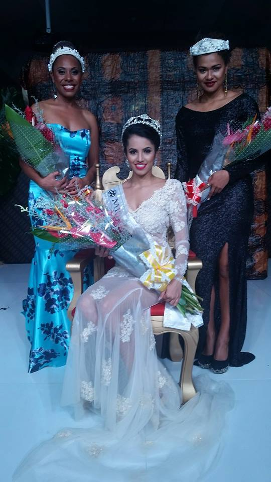 Pooja Priyanka won Miss World-Fiji 2016 she will represent Fiji at Miss World 2016