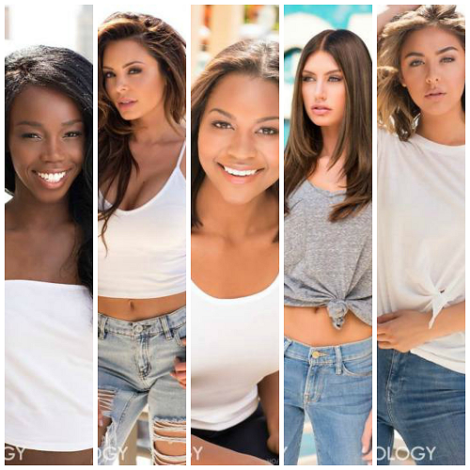 Miss USA 2016 Head Shots