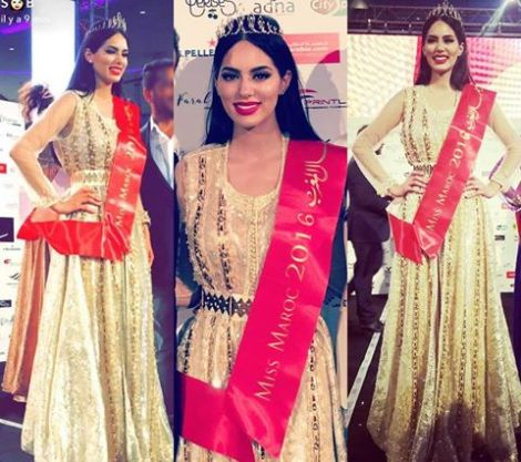 Sara Belkziz is Miss Morocco 2016