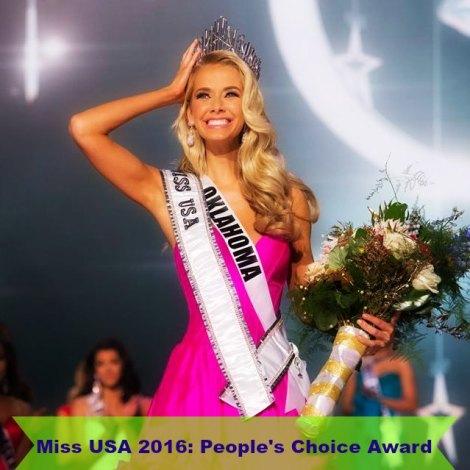 Miss USA 2016 People's Choice Award