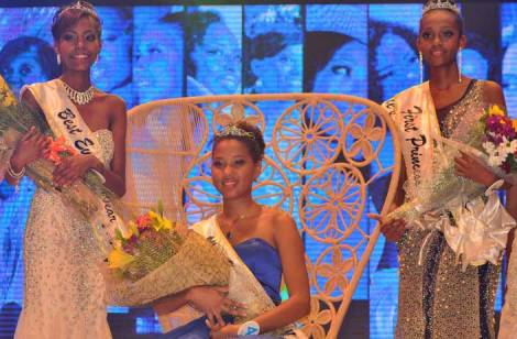 Christine Barbier crowned Miss World Seychelles 2016
