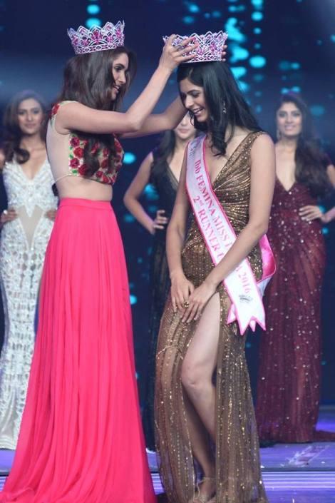 Pankhuri Gidwani Femina Miss India 2016 second runner-up will represent India at Miss Grand International 2016