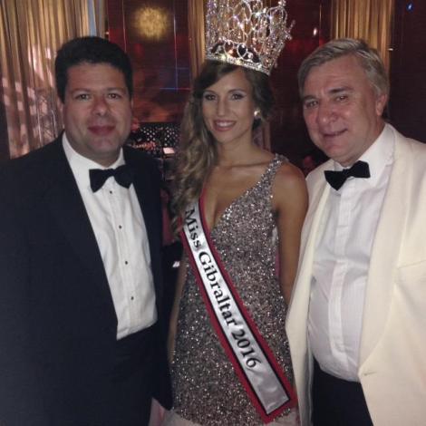 Miss Gibraltar 2016 she will represent Gibraltar at Miss World 2016
