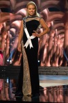 Alexandra Vorontsova, Miss Delaware USA competes during the evening gown competition at Miss USA 2016 preliminary show
