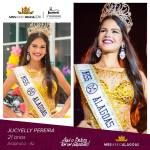 Jucyelly Pereira is representing ALAGOAS at Miss Mundo Brasil 2016