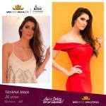 Tayana Maia is representing AMAZONAS at Miss Mundo Brasil 2016