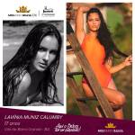 Lavinia Muniz Calumby is representing BAHIA at Miss Mundo Brasil 2016